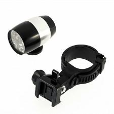Buy Bike Front White Head Light Aluminium Alloy Waterproof Ultra Bright 6 LED Bicycle
