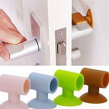 Buy Handle Door Lock Protective Pad baby safety sucker rear door wall crash cushion