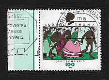 Buy German Used Scott #1936 Catalog Value $.65