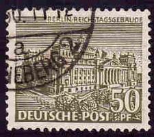 Buy German Used Scott #9N53 Catalog Value $.35