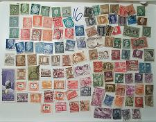 Buy 112 count World Wide stamps Lot #16