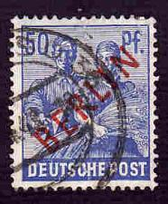 Buy German Berlin Used Scott #9N30 Catalog Value $7.50