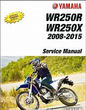 Buy 2008-2015 Yamaha WR250R WR250X Service Repair Manual CD -- WR 250 R X WR250