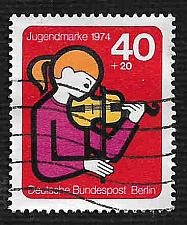 Buy German Berlin Used Scott #9N108 Catalog Value $.90