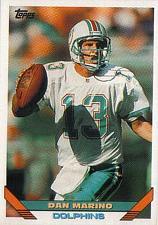 Buy 1993 Topps #290 - Dan Marino - Miami Dolphins