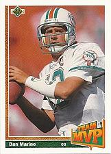 Buy 1991 Upper Deck #465 Team MVP Dan Marino