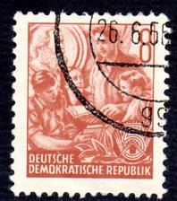 Buy German DDR Used Scott #158 Catalog Value $.25