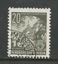 Buy German DDR Used Scott #163 Catalog Value $.25