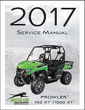 Buy 2017 Arctic Cat Prowler 700 XT / Prowler 1000 XT UTV Service Manual on a CD