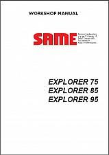 Buy SAME EXPLORER 75 85 95 Tractor Service Workshop Manual CD