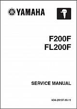 Buy Yamaha F200 / FL200 4-Stroke Outboard Motor Service Repair Manual CD