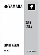 Buy Yamaha 200 / L200 2-Stroke Outboard Motor Service Repair Manual CD