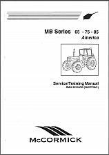 Buy McCormick MB Series ( 65 75 85 ) Tractors Service Manual CD -- MB65 MB75 MB85
