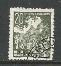 Buy Germany DDR Used Scott #195 Catalog Value $.25