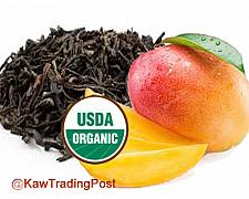 Buy Hot or Cold Brew Organic Mango Ceylon Tea 16 oz 1 Pound - Refreshing and Healthy!