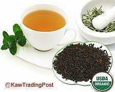 Buy Organic Earl Grey Tea 16 oz 1 pound - Revered Tea enjoy with milk , lemon, honey