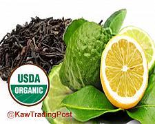 Buy 100% certified Organic Earl Grey Tea 16 oz - 1 pound -- Rich in Antioxidant Catechin