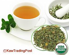 Buy Organic Delightful Afternoon Tea 16 oz 1 Pound Healthful Soothing Blend