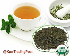 Buy Green Tea 100% Organic Earl Grey - 16 oz 1 pound - Revered Classic Tea Now GREEN!