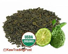 Buy Green Tea Organic Earl Grey - 16 oz 1 pound - Healthy Benefits like Weight loss