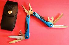 Buy HUSKY BLUE FULL SIZE SPRING-ASSISTED PLIERS QUALITY 12n1 Multi-Tool with /Case/Sheath