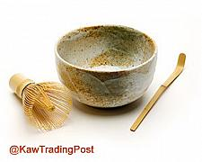 Buy Organic Matcha Tea Powder, Ceremonial Grade, Matcha Bowl Whisk, Spoon, 8 oz 1/2 pou