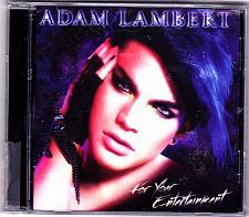 Buy For Your Entertainment by Adam Lambert CD 2009 - Very Good
