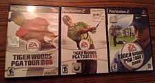 Buy Lot of 3: Tiger Woods PS2 games