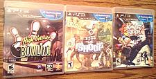 Buy Lot of 3: PS3 PlayStation Move games