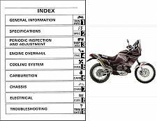 Buy 89-96 Yamaha XTZ 750 Super Tenere Service Repair Manual CD .... XTZ750 Téneré