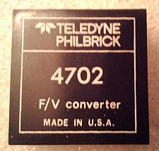 Buy Teledyne Philbrick 4702 Frequency to Voltage Converter :: FREE Shipping