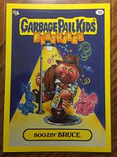 Buy Garbage Pail Kids 2011 Flashback 3 Series Boozin' Bruce 3a Yellow Border