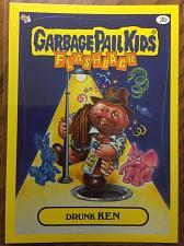 Buy Garbage Pail Kids 2011 Flashback 3 Series Drunk Ken 3b Yellow Border