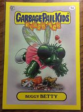 Buy Garbage Pail Kids 2011 Flashback 3 Series Buggy Betty 5a Yellow Border