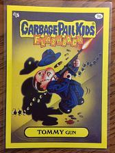 Buy Garbage Pail Kids 2011 Flashback 3 Series Tommy Gun 9a Yellow Border