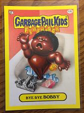 Buy Garbage Pail Kids 2011 Flashback 3 Series Bye Bye Bobby 10b Yellow Border