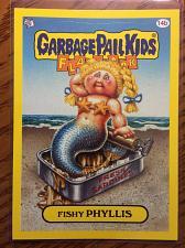 Buy Garbage Pail Kids 2011 Flashback 3 Series Fishy Phyllis 14b Yellow Border