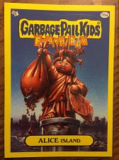 Buy Garbage Pail Kids 2011 Flashback 3 Series Alice Island 16a Yellow Border