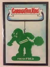 Buy Garbage Pail Kids BNS3 2013 Fresh Fred 162a Black Border GPK