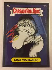 Buy Garbage Pail Kids BNS3 2013 Lisa Miserables 164a Black Border GPK