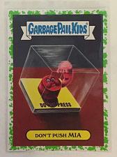 Buy Garbage Pail Kids American AS Apple Pie 2016 Don't Push Mia 16b Green Puke GPK