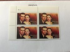 Buy USA United States Alfred Lunt block mnh 1999 #1