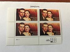 Buy USA United States Alfred Lunt block mnh 1999 #3