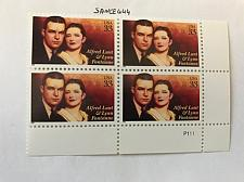 Buy USA United States Alfred Lunt block mnh 1999 #4