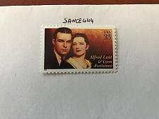 Buy USA United States Alfred Lunt mnh 1999 #3