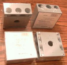 "Buy Lot of 4: Mulberry 30248 Five 3/4"" IPS Holes Outlet Box"