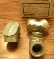 "Buy Lot of 3: Appleton MFL-100 1"" Rigid Pulling Elbows"