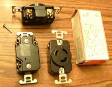Buy Lot of 3: P&S L-1120R 20A 250V 3PH Turnlok® Locking Receptacle :: FREE Shipping