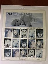Buy USA United States Arctic animals mnh sheet 1999