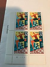 Buy USA United States Marathon block mnh 1996 #1 stamps
